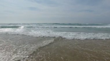 Ocean waves under the atlantic ocean — Stock Video