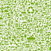 Fondo Verde eco — Vector de stock