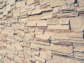 Stone wall old retro vintage style — Stock Photo