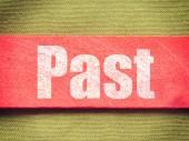 Text on Background old retro vintage style — Stock Photo