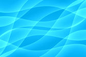 Abstrait bleu onde lumineuse — Photo