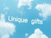 Cloud words with design on blue sky background — Stok fotoğraf