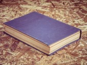 Old book with filter effect retro vintage style — Foto Stock