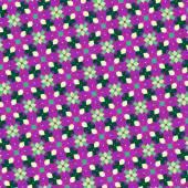 Illustrazione del reticolo dei fiori astratti — Foto Stock