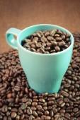 Kaffe med filter effekt retro vintage stil — Stockfoto