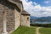Church of Saint Pierre in Civate Lecco Italy — Stock Photo