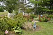Fall view of Garden — Stock Photo