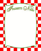 Italian Checkered Backgrounds with White Insert for Text — Photo