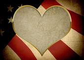 BackgroundConcept - Love of America — Stock Photo