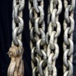 Hanging Chains with Heavy, Strong Hook — Stock Photo #77941382