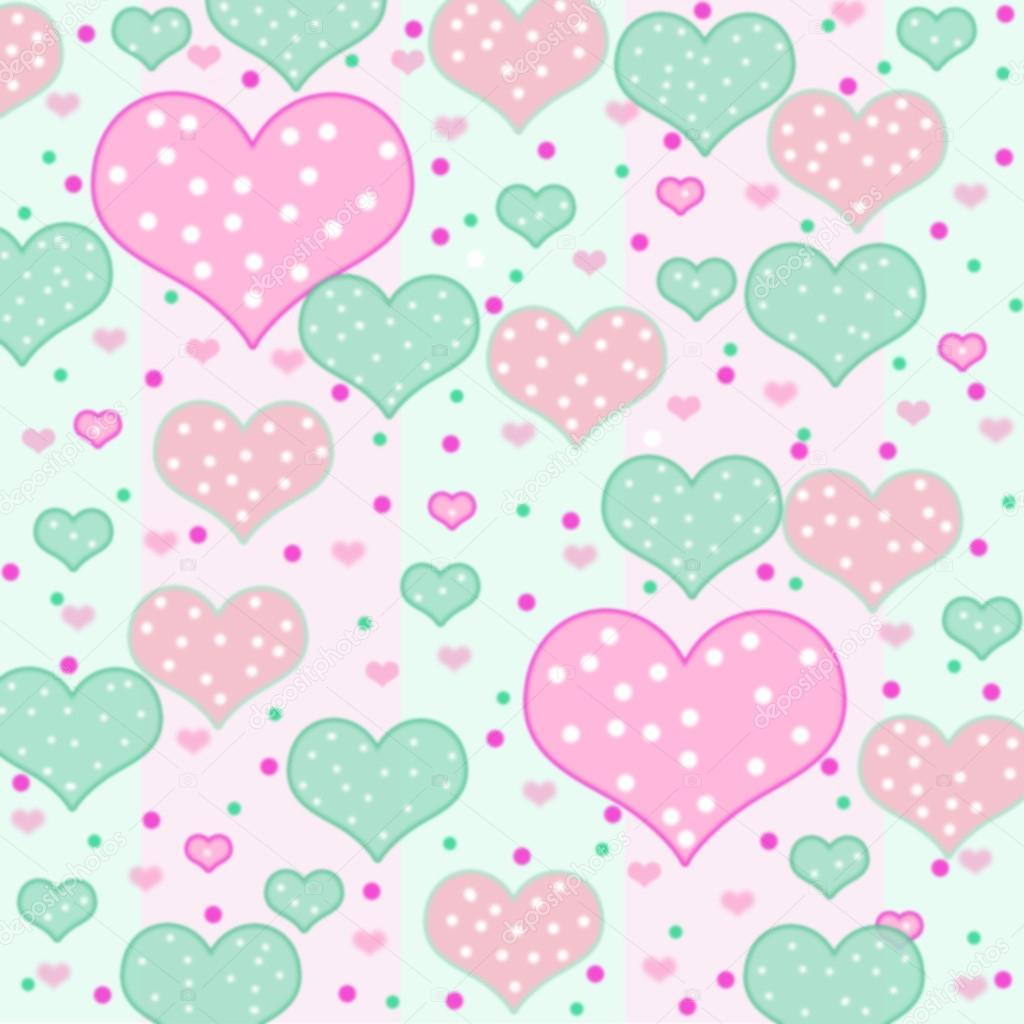 corazones de colores fondo - photo #42