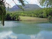 Mountain range Boiko in Crimea — Stock Photo