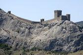Genoese fortress in Sudak — Stock Photo