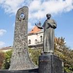Постер, плакат: Monument to Ukrainian poet Taras Shevchenko