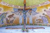 Chapel-monument in Zolochiv Castle — Stok fotoğraf