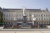 Monument to Princess Olga — Stock Photo