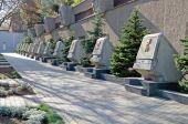 Memorial to heroic defense of Sevastopol — Stock Photo