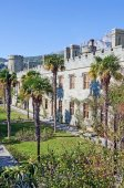 Vorontsov Palace in Crimea — Stock Photo