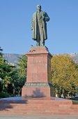 Monument to Lenin in Yalta — Stock Photo