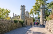 East side of the Vorontsov Palace — Stock Photo
