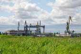 Shipbuilding plant in Kerch — Stock Photo