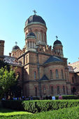 Church of Three Saints, Chernivtsi — Stock Photo