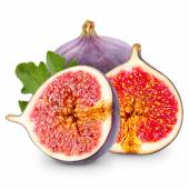 Figs isolated — Stock Photo