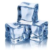 蓝色冰 — 图库照片