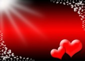 Valentine's Day card — Stock Photo