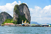 Koh Panyee or Punyi island in summer — Stock Photo