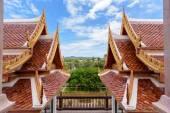 Thai style roof — Stock Photo