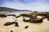 Görünüm kayalık Beach, Crete, Yunanistan — Stok fotoğraf