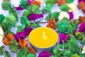 Scented candles, very clorfull — Stock Photo