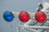 Weathered Navigational Equipment - Stock Image — Stock Photo