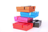 Gift boxes - Stock Image — Stock Photo