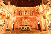 Interior Of  Church - Stock Image — Stock Photo