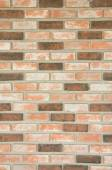 Red brick wall background and texture - Stock Image — Stock Photo