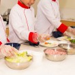 Children having cooking class — Stock Photo #52172037