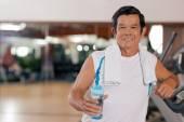 Mature sporty man — Stock Photo