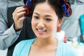 In beauty salon — Stockfoto