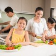 Happy Vietnamese family — Stock Photo #54309919
