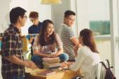 High school students — Stock Photo