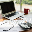 Workplace of accountant — Stock Photo #54315155