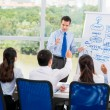 Presenting business strategy — Stock Photo #54316057