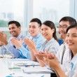 Business people applauding — Stock Photo #54316211