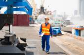 Dock worker — Stock Photo