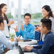 Cheerful business team — Stock Photo #54324449