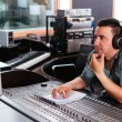 Working at mixing panel — Stock Photo #54324945