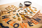 Decorations and cookies — Foto Stock