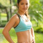 młoda kobieta Sport — Zdjęcie stockowe #59266475
